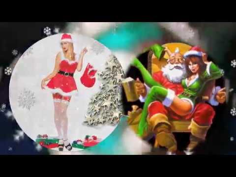 С Новым 2019 годом! Веселое поздравление от Деда Мороза с плясками:) - Видео приколы ржачные до слез