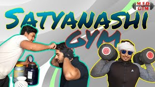 Types of people at gym | funny video |By 2 satyanashi