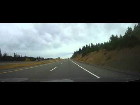 Driving on Trans-Canada Highway through the Rocky Mountains Part 6 (hope, bc)