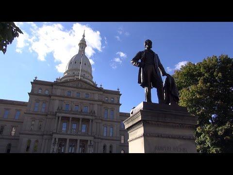State Capital, Lansing, Michigan  - REAL USA Ep. 120