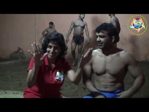Mr Virender Singh, deaf wrestler from Delhi who is famous and got arjun award at India