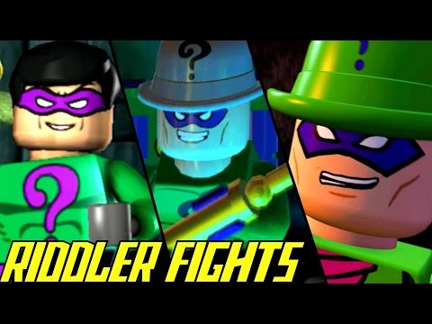 Evolution of Riddler Battles in LEGO Batman Games (2008-2017)