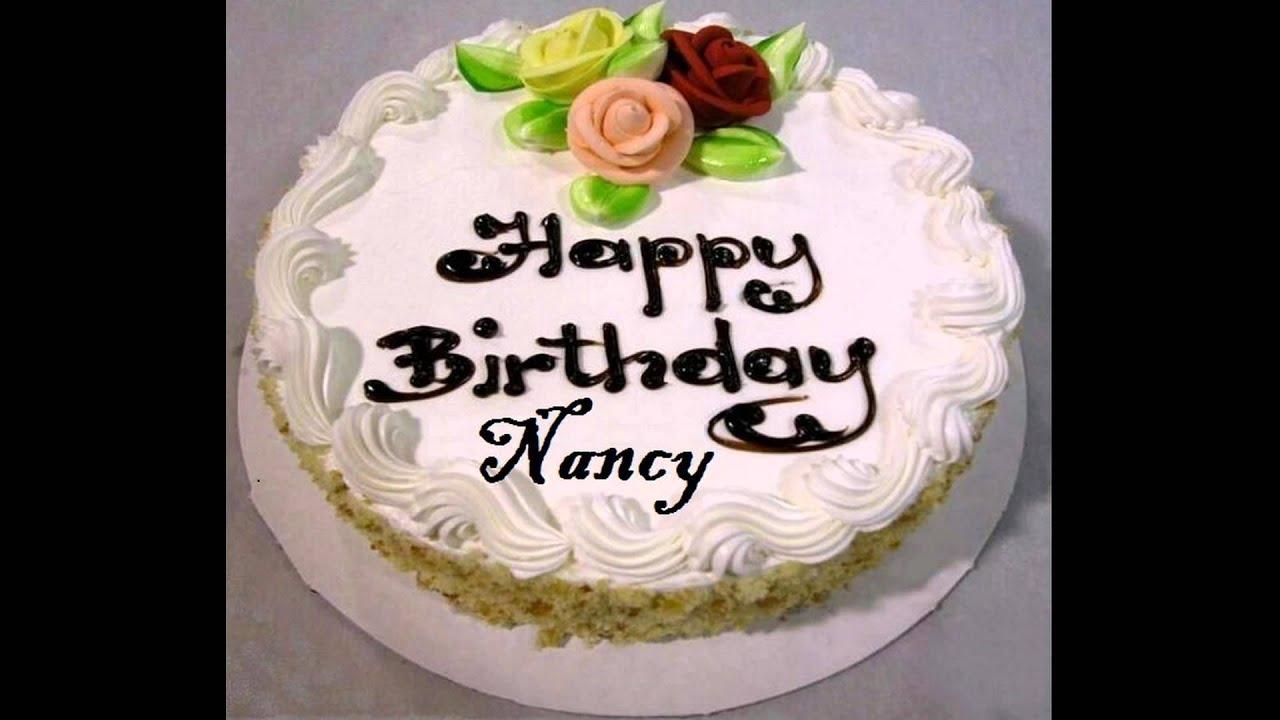 happy birthday nancy cake images