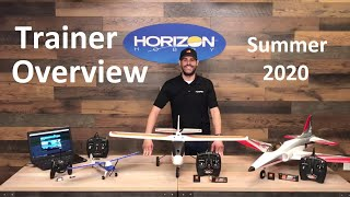 Horizon Hobby trainer Airplane Overview - Summer 2020