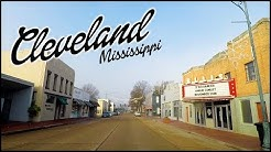 Cleveland Mississippi downtown tour