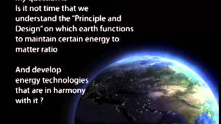 Principle and Design - The Energy Secret of Nature