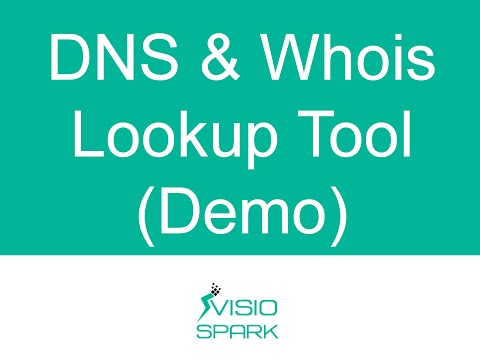 DNS Lookup Tool - WHOIS Lookup Online