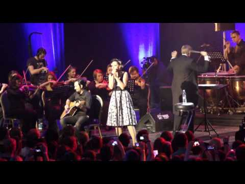 Louna с симфоническим оркестром Глобалис - Сожженная заживо 19.11.2015 в Крокус Сити Холл г.Москва