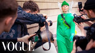 We FAKED a Grandma to the Top of Fashion Week (Featured in Vogue)
