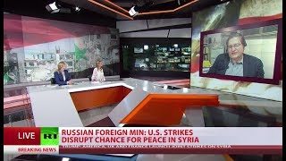 RT's special coverage on US, UK & France launching 'precision strikes' in Syria (Streamed Live)