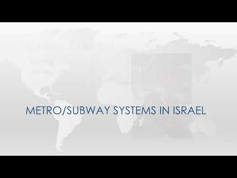 METRO/SUBWAY systems in ISRAEL