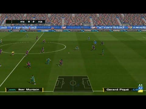 pes 2021 gameplay barcelona vs athletic bilbao - YouTube