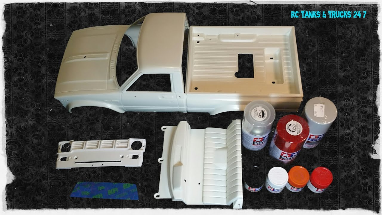 How To Paint A Tamiya Plastic Hard Body   Part 1 BODY PREPARATION     How To Paint A Tamiya Plastic Hard Body   Part 1 BODY PREPARATION   PAINTS    Box Art Mountain Rider