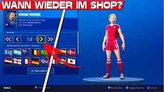 WHEN ARE the FOOTBALL SKINS AGAIN? | Fortnite Football Skins in the shop?