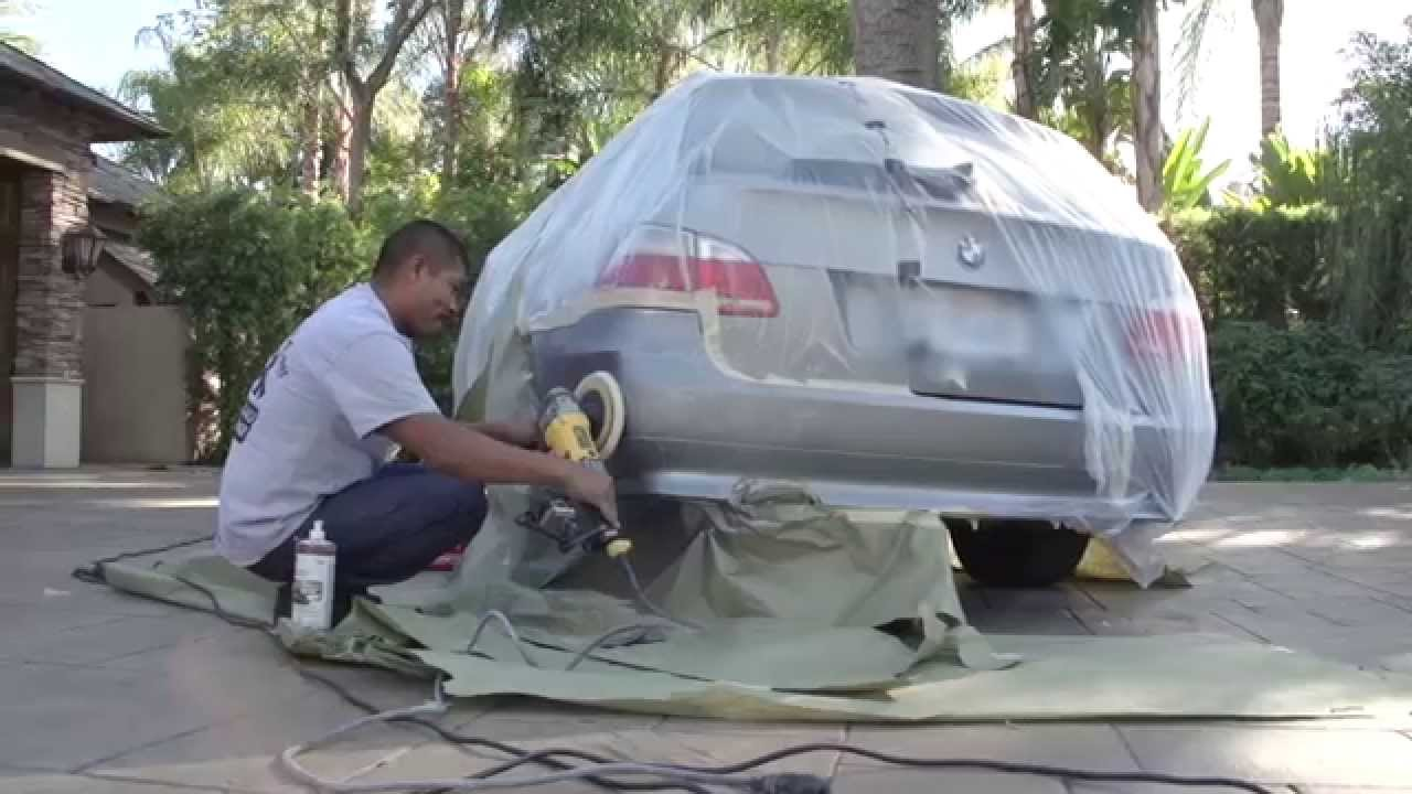 Professional mobile bumper repair youtube for Pro equipement restauration