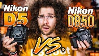 Jared Polin: Nikon D5 VS D850