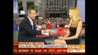 Ann Coulter Beats Up Matt Lauer on Good Morning America on Bush, 9/11 & More