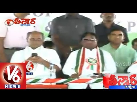 Funny - Congress senior leaders sleeping at party meeting - Teenmaar News