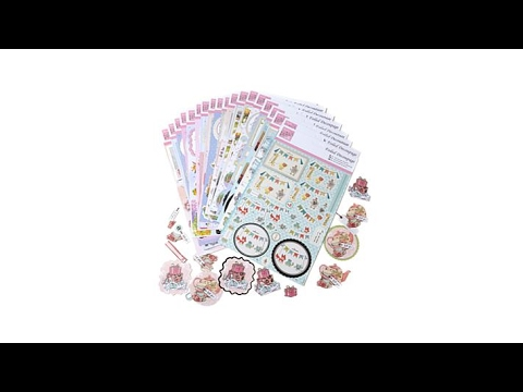 docrafts Anita/'s Foiled Decoupage Celebrations lot of 20 pages