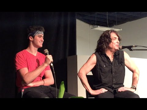 Paul Stanley Interviewed by 16 Year Old Miles Schuman
