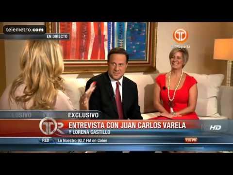 Entrevista del Presidente Electo Juan Carlos Varela y Lorena Castillo Parte 1