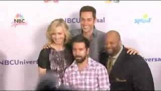 Video Zachary Levi and Chuck cast at NBC Universal Press Tour All Star Party 2011 download MP3, 3GP, MP4, WEBM, AVI, FLV Juli 2018