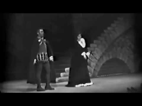 E.Bastianini, F.Corelli, C.Parada. La Forza del destino 1958. Il Trovatore 1963.