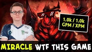Miracle 1000 GPM Shadow Fiend — WTF this game