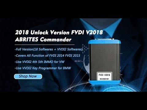 How to Install FVDI Abrites FVDI 2018 Abrites Commander Software