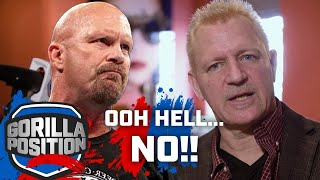 Jeff Jarrett on 'Stone Cold' Steve Austin refusing to work with him!