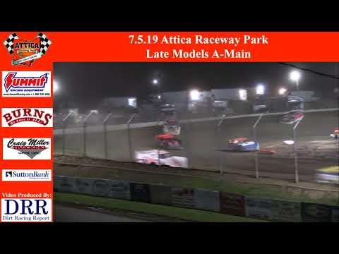 7.5.19 Attica Raceway Park Late Models A-Main