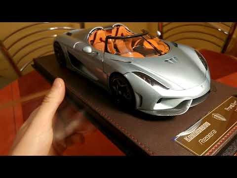 1:18 Frontiart Open Koenigsegg Regera model car review
