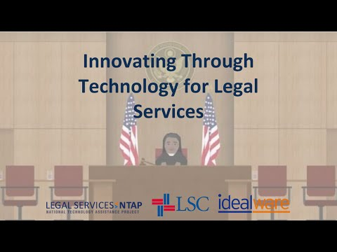 Innovating Through Technology for Legal Services