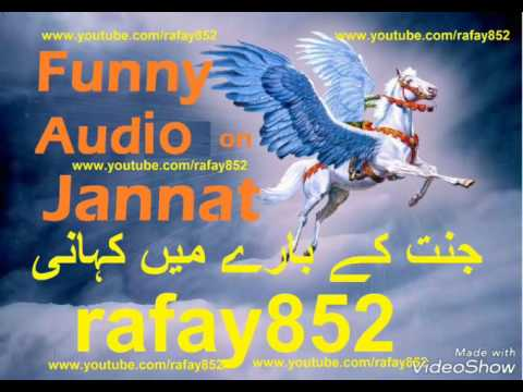 Funny Andhra Urdu Bayan on jannat Aur Jannati Ki Nyamaten  جنت پر دلچسپ آندھرا اردو تقریر