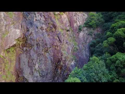 Dragon Jaw (龍顎石澗) Waterfalls in Lantau Island, Hong Kong