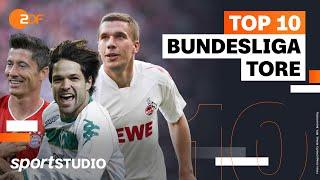 Top 10 Tore dęs Jahrtausends | Bundesliga | sportstudio – ZDF