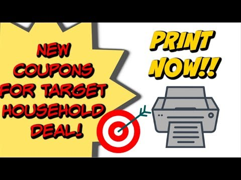 NEW PRINTABLE COUPONS | DEAL UPDATE AT TARGET 11/11 – 11/17 ON SCRUBBING BUBBLES!