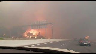 גל שריפות ביוון