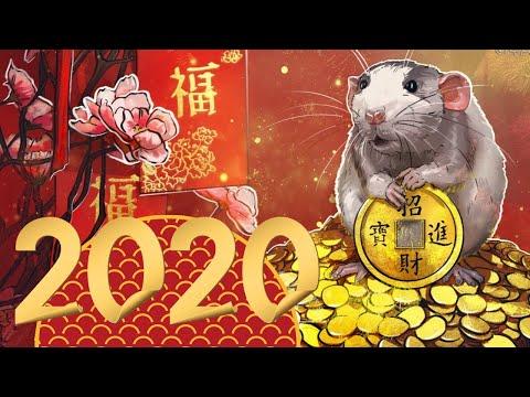 Chinesisches Neujahr ???? Jahr der Ratte ???? Mond-Neujahr 2020 Glückwünsche