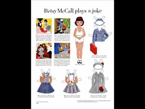 Betsy McCall Paper Dolls Early Fifties