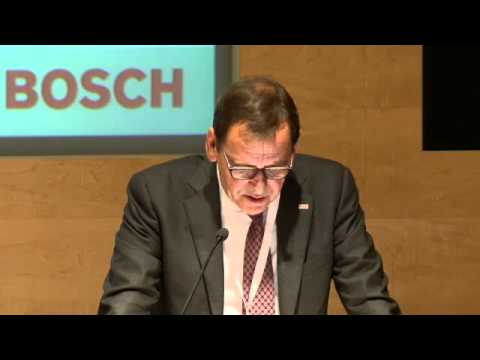 Peter Tyroller, Robert Bosch GmbH - 2012 SMMT International Automotive Summit