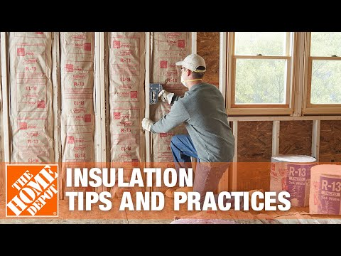 Insulation Tips And Practices