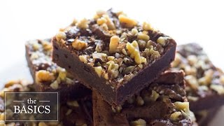 Fudgy Brownies | The Basics