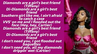 Megan Thee Stallion & Normani ~ Diamonds (from Birds of Prey: The Album) ~ Lyrics