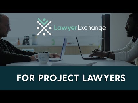 Find On-Demand Legal Project Work with Lawyer Exchange
