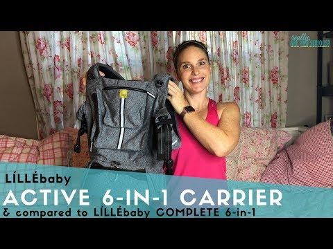 LÍLLÉbaby Active 6 In 1 Carrier And Comparison To  LÍLLÉbaby COMPLETE