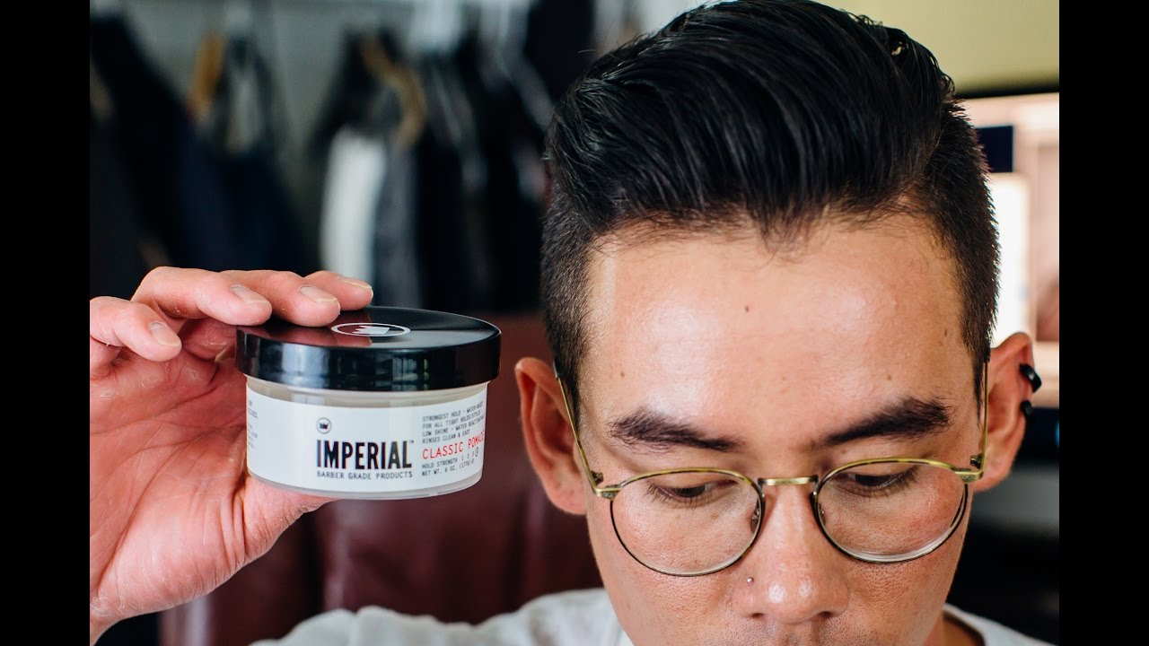 Imperial Barber Classic Pomade Review Crispy Gel Strength Youtube