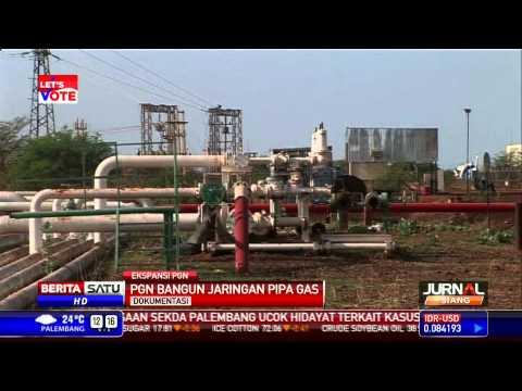 Perusahaan Gas Negara Bangun Jaringan Pipa Gas