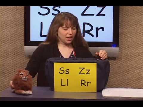 G1 Language Arts Reading CCSS 13   Initial Sounds   S, Z, L, R, & C