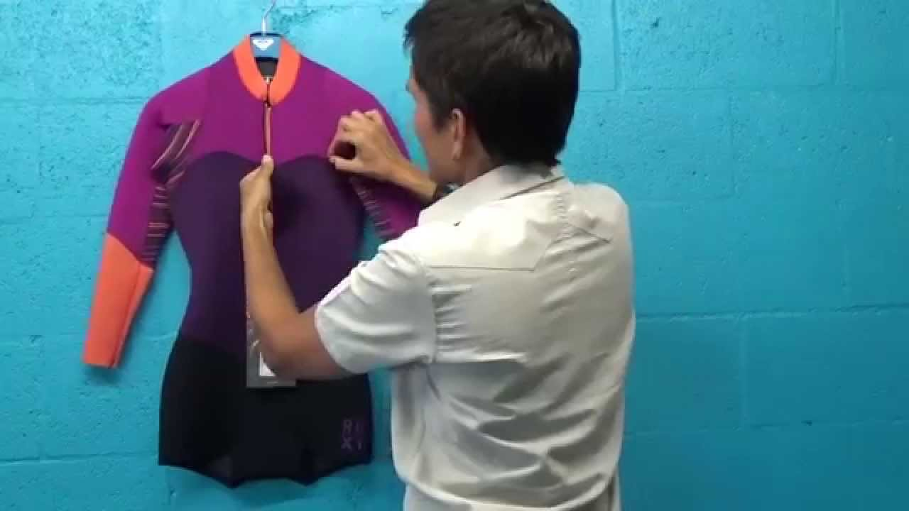 ROXY XY Springsuit Long Sleeve Womens Wetsuit - PleasureSports com ... 0c6427fab